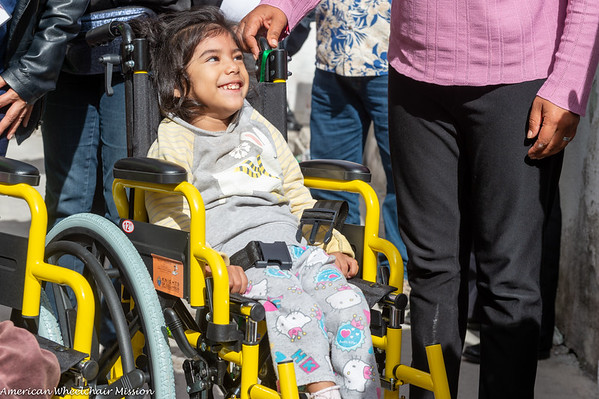2018 Hildago, Mexico Wheelchair Distributions