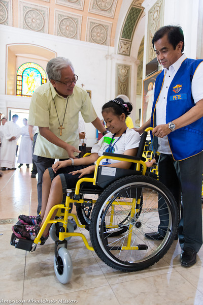 2014 Philippines Wheelchair Distributions