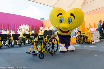 2014 Rotary Club Wheelchair Distribution in Puebla Mexico