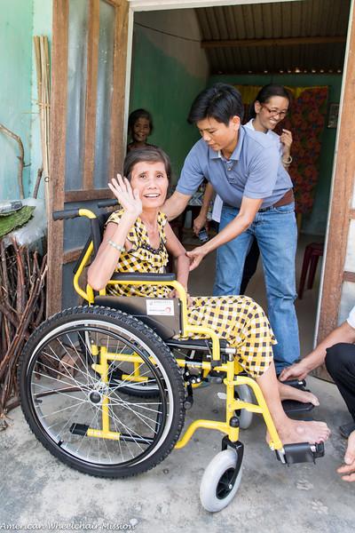 2014 Vietnam Wheelchair Distributions