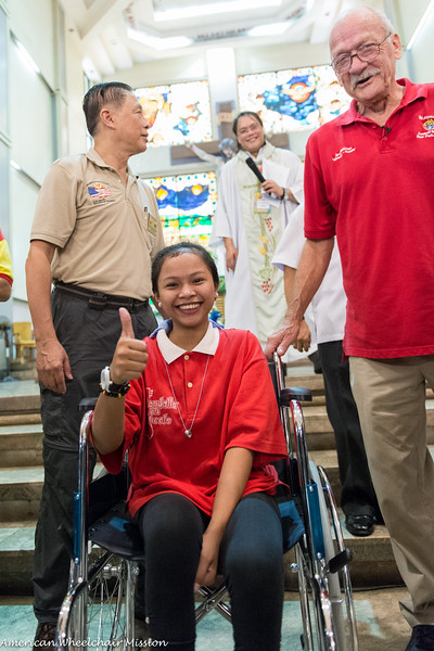 2015 Philippine Wheelchair Distribution By The Texas Knights of Columbus