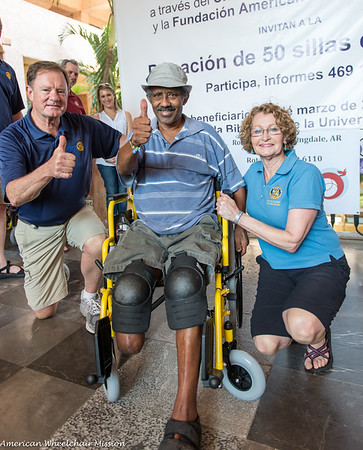 2015 Rotary Club Wheelchair Distribution in Acapulco, Mexico