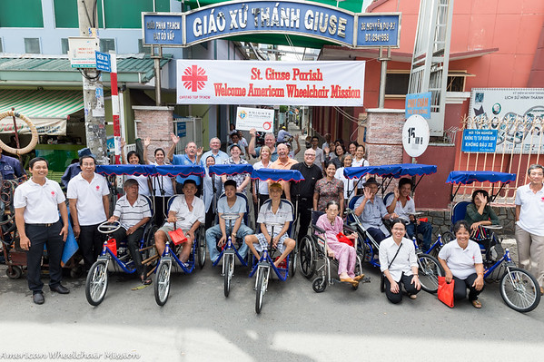 2016 Vietnam Wheelchair Distributions