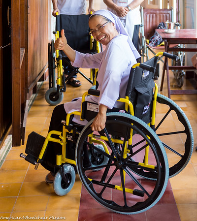 2018 (August) Vietnam Wheelchair Distributions