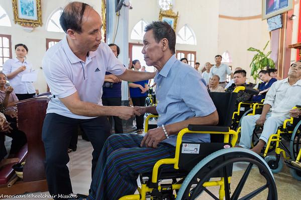 2018 (August) Vietnam Wheelchair Distributions