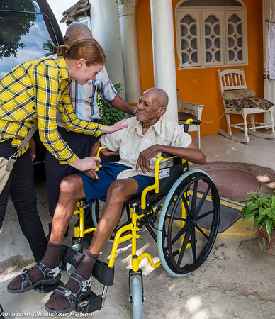 Jamaica Wheelchair Distributions