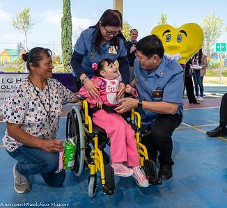 2019 Hidalgo, Mexico Wheelchair Distribution