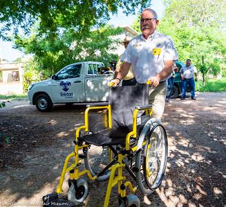 2019 Tamaulipas, Mexico (July) Wheelchair Distribution