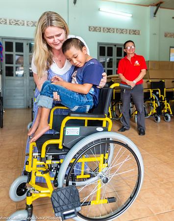 2019 Vietnam (April) Wheelchair Distributions