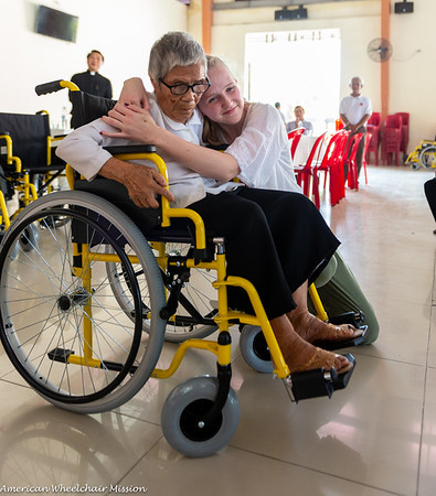 2019 Vietnam (April) Wheelchair Distributions