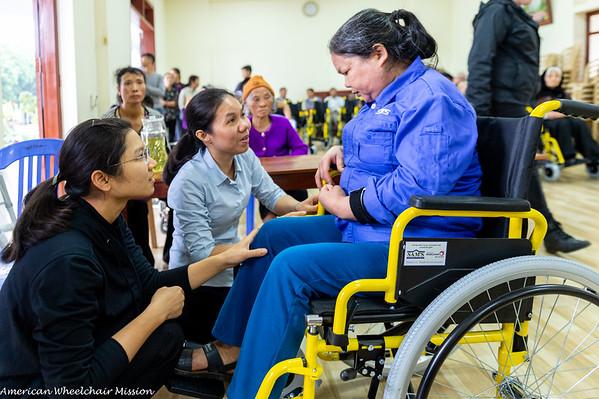 Sam's Furniture Store's Vietnam Wheelchair Distribution