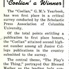 Coelian a Winner