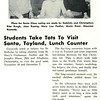 Students Take Tots To Visit Santa, Toyland, Lunch Counter