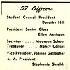 1957 Officers