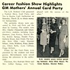 Career Fashion Show Highlights GM Mothers' Annual Card Party