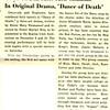"Gwyn-eds, La Salle Men Combine In Original Drama, ""Dance of Death'"