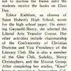 '59 Coelian to Meet February 13 Deadline