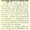 Students Merit Gregg Speed Awards