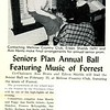 Seniors Plan Annual Ball Featuring Music of Forrest