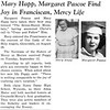 Mary Happ, Margaret Pascoe Find Joy in Franciscan, Mercy Life