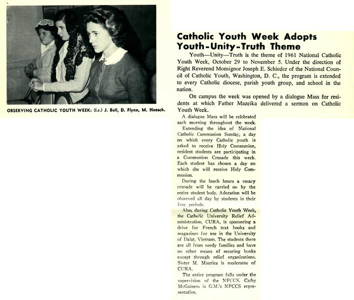 Catholic Youth Week Adopts Youth-Unity-Truth Theme