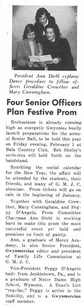 Four Senior Officers Plan Festive Prom
