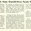 Summer Schedule Keeps Gwynedd-Mercy Faculty Busy Daily