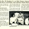 Talk by Rev. W. Handren, S.J., to Mark Honors Convocation, Loretta Rocco, Carol Kates, Joan Lawrence Attain Dean's List