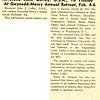 Reverend John Coffey, O.S.A., To Preside At Gwynedd-Mercy Annual Retreat, Feb. 4-6
