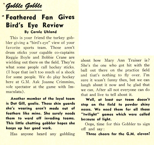Gobble Gobble Feathered Fan Gives Bird's Eye Review