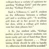 College Men Give Views on Femmes