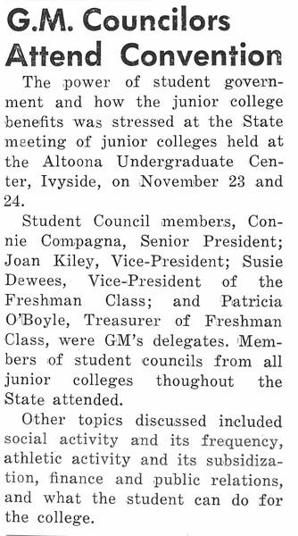 G.M. Councilors Attend Convention
