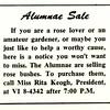 Alumnae Sale
