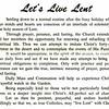 Let's Live Lent