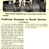 Traditional Campaign to Herald Elections By M. Molinara