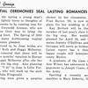 Grad Gossip NUPTIAL CEREMONIES SEAL LASTING ROMANCES