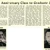 Tenth Anniversary Class to Graduate June 7