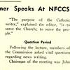 Rev. Anthony Ostheirmer Speaks At NFCCS