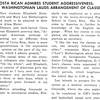 COSTA RICAN ADMIRES STUDENT AGGRESSIVENESS; WASHINGTONIAN LAUDS ARRANGEMENT OF CLASSES