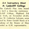 Art Instructors Meet At Ladycliff College