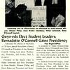 Gwyn-eds Elect Student Leaders; Bernadette O'Connell Gains Presidency