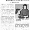 Kathleen Casey, Catherine Crane To Pilot Senior Ball February 5