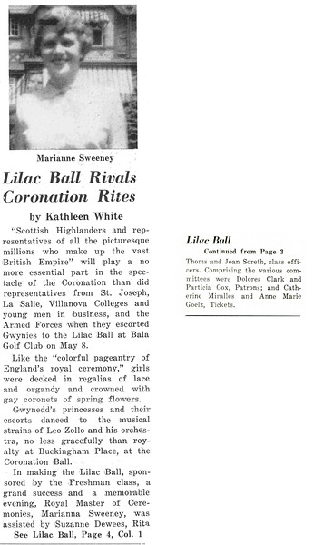 Lilac Ball Rivals Coronation Rites
