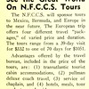 See the Great World On N.F.C.C.S. Tours