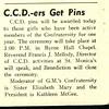 C.C.D.-ers Gef Pins