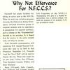 Goof Ball: Why Not Effervesce For N.F.C.C.S.?
