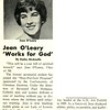 Jean O'Leary 'Works for God'