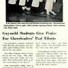 Gwynedd Students Give Praise For Cheerleaders' Past Efforts