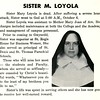 SISTER M. LOYOLA
