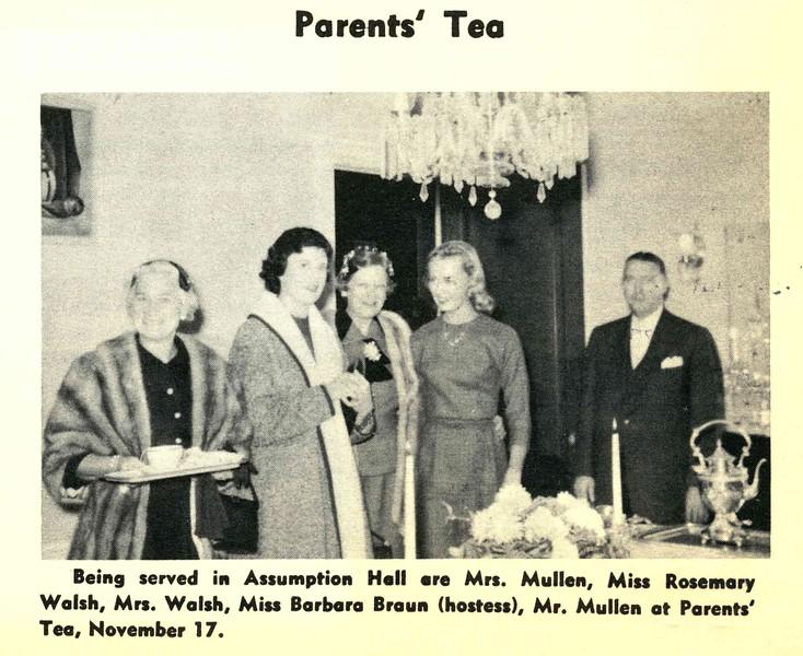 Parents' Tea